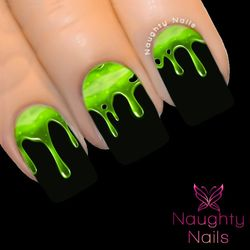 MONSTERIZE My Nails Water Transfer Nail Decal Sticker Art Tattoo Monster