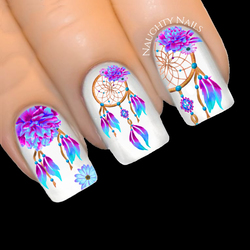 Sacred MYSTIC Dreamcatcher Nail Water Decal Sticker Art Tattoo