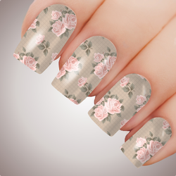 Elegant Rose - ULTIMATE COLLECTION - Full Nail Decal Water Transfer Tattoo