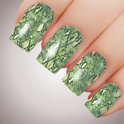 Viper - ULTIMATE COLLECTION - Snakeskin Full Nail Art Decal Water Transfer Tattoo