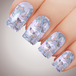 Violet - ULTIMATE COLLECTION - Full Nail Art Decal Water Transfer Tattoo