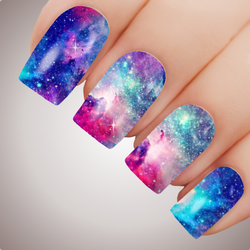 Enchanted Galaxy - ULTIMATE COLLECTION - Full Nail Art Decal Water Transfer Tattoo