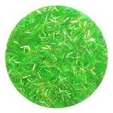 Jade Green FLITTER Nail Art Glitter Strips for Acrylic or UV Gel Nails