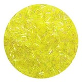 Summer Yellow FLITTER Nail Art Glitter Strips for Acrylic or UV Gel Nails